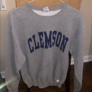 Clemson Gray Sweatshirt